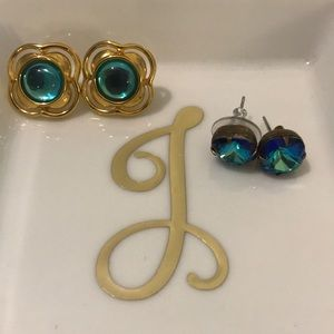Jewelry - Blue earring bundle